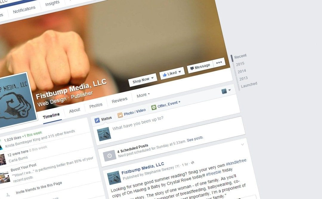 facebook for business: putting your expertise on display