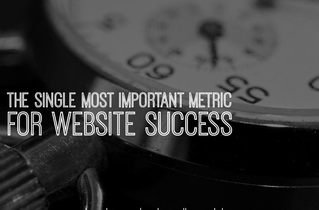 the single most important metric for website success