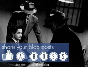 share blog posts