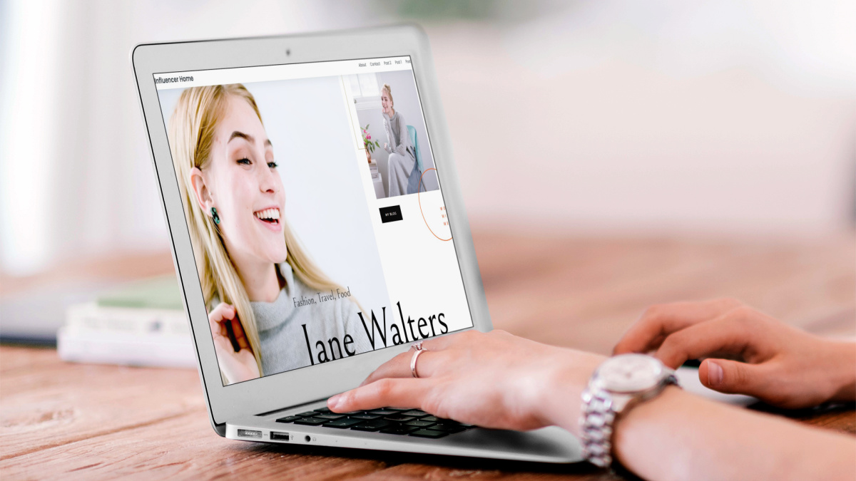 website builder for writers